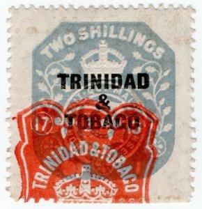 (I.B) Trinidad & Tobago Revenue : Duty Stamp 2/-