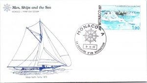 Monaco, Worldwide First Day Cover, Polar, Ships
