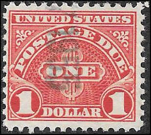 1930 US SC # J77a USED NH ng  - CV $.30 - NICE STAMP