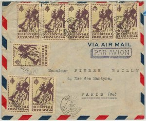 44835 -  AOF  IVORY COAST Côte d'Ivoire - POSTAL HISTORY -  COVER to FRANCE 1940