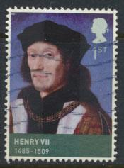 GB  SG 2924 SC# 2654 Kings & Queens  Henry VII  Used