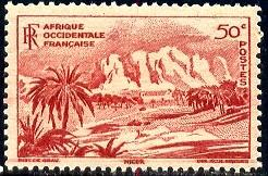 Oasis of Bilma, Niger, French West Africa stamp SC#39 MNH
