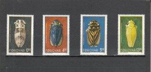 FAROE ISLANDS 276-279 MNH 2014 SCOTT CATALOGUE VALUE $7.95