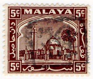 (I.B) Malaya States Revenue : Selangor (Japanese Occupation) 5c