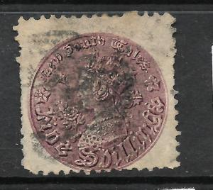 NEW SOUTH WALES 1861-88   5/-  COIN   QV  FU  P11   SG 181