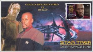 CA17-005, 2017, Star Trek, FDC, Captain Sisko, Ducat, Deep Space Nine