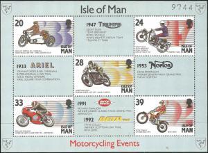Isle of Man - 566a -MNH - SCV-5.50