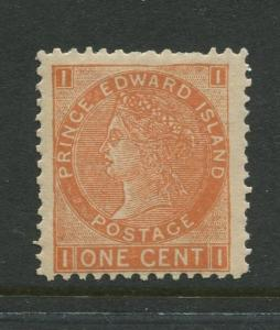 Prince Edward Is. - Scott 11 - QV Definitive Issue -1872 - MNH- Single 1c Stamp