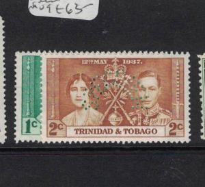 Trinidad & Tobago Specimen SG 243s, 244s MOG (6dqj)