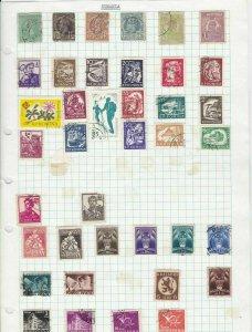 romania stamps ref 12068