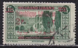 Lebanon 103 Mouktara Palace O/P 1928