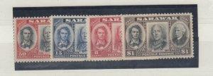 Sarawak 1946 Centenary Set SG146/149 MNH J6764