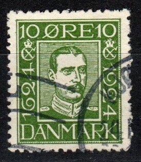 Denmark #164  F-VF Used  CV $7.00  (SU8376)