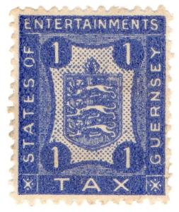 (I.B) Guernsey Revenue : Entertainments Tax 1d