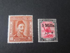 Sudan 1940 Sc 52,60 MH