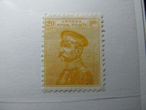 Serbien Serbia 1911 20p Fine MH* A5P18F381