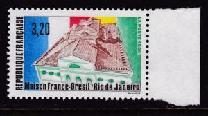 France 1989 3.20fr. Franco-Brazillian House Rio de Janeiro  VF/NH