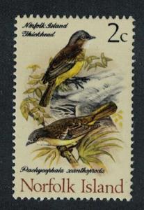 Norfolk Golden Whistler Birds 1v SG#104