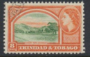 Trinidad & Tobago  SG 273  Used  Queen's Park  SC# 78 - see scan