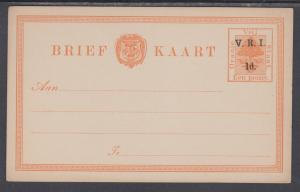 Orange Free State H&G 22 mint 1898 1p on 1p Orange Tree Postal Card