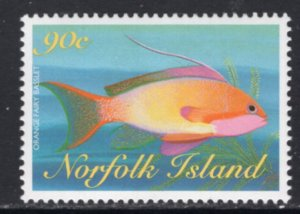 Norfolk Island 654 Fish MNH VF