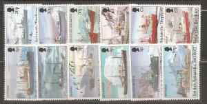 British Antarctic Territory SC 202-13  Mint, Never Hinged