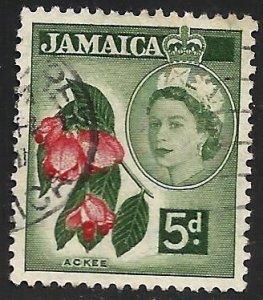 Jamaica 1956 Scott# 165 Used