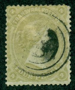 Transvaal #100  Used  Scott $9.25