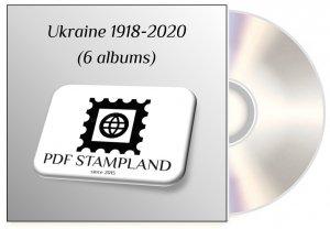 Ukraine 1918-2020 (6 albums) PDF STAMP ALBUM PAGES