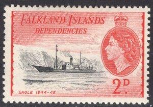 FALKLAND ISLANDS SCOTT 1L22