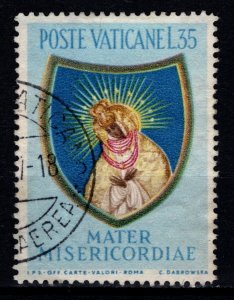 Vatican City 1954 Termination of Marian Year, 35l [Used]