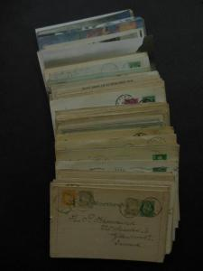 NORWAY : Fascinating collection of 176 Used Postal History items as received.