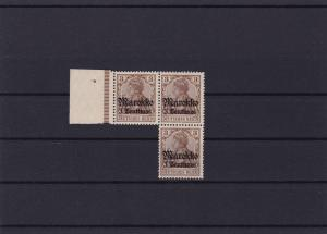 German Colonies  Morocco 1911 Yacht Type mint never hinged stamps block  R20946