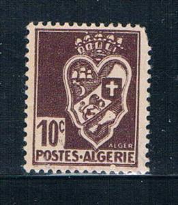 Algeria 147 MLH Arms of Algiers 1942 (A0318)+
