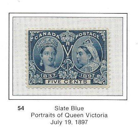 Canada 54 OG Pretty Stamp