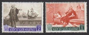 Italian Explorer Navigator = Christopher Columbus = San Marino 1952 = MNH Stamps