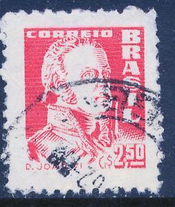Brazil 890, 2.50cr Dom John VI. Used. (469)