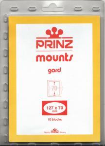 PRINZ BLACK MOUNTS 127X70 (10) RETAIL PRICE $6.50