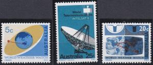 Australia 431-433 MNH (1968)