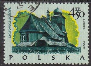 Poland, Sc 2026, CTO-NH, 1973, Church / Lachowice
