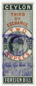 (I.B) Ceylon Revenue : Foreign Bill 2R (Third)