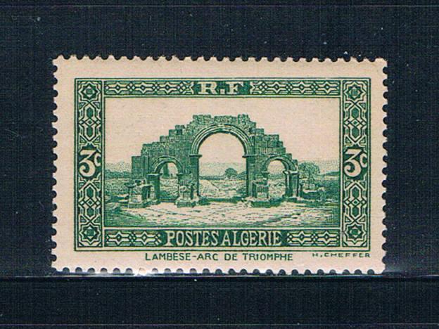 Algeria 81 MLH Arch of Triumph 1936 (A0304)+