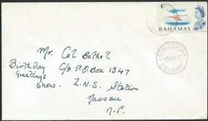 BAHAMAS 1967 local cover ARTHURS TOWN cds..................................49115
