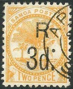 Samoa SG76 3d on 2d orange Cat 16 pounds