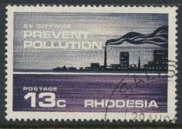 Rhodesia   SG 473  SC# 317  Used Prevent Pollution  City see details