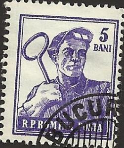 ROMANIA - 1025 - Used - SCV-0.25