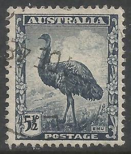 AUSTRALIA 196 VFU BIRD 138C-5