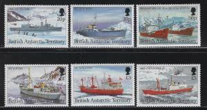 Br Antarctic Territory 1993 Research Ships set Sc# 202-13 NH