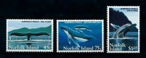 [99431] Norfolk Island 1995 Marine Life Whales  MNH