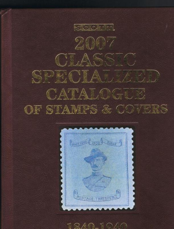 2007 Scott's Clasic Stamp Catalog used but in good condition